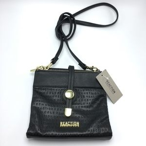 Kenneth Cole Reaction Purse Crossbody Embossed